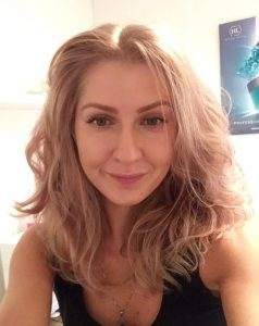 Yulia in Mon Visage beauty salon in Farnham Interior