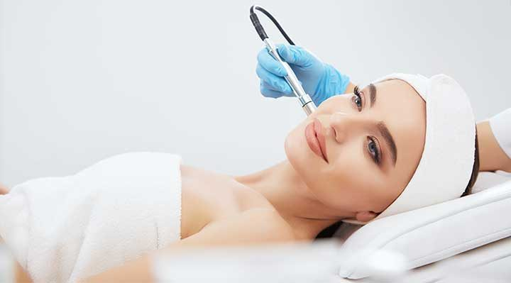 Mon Visage diamond microdermabrasion treatment in Farnham